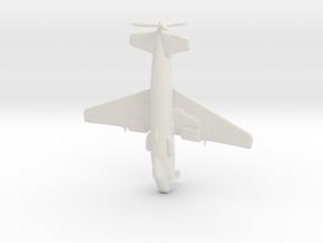 1:285 Bv P.193 (Gear Down) in White Natural Versatile Plastic