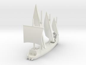 1/1000 Spitfire Caravel in White Natural Versatile Plastic