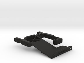 TRX4 Servo and Battery Mount in Black Natural Versatile Plastic