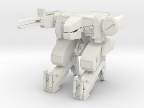 Metal Gear Rex in White Natural Versatile Plastic