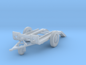 EQ28B CV35 Trailer (1/100) in Smooth Fine Detail Plastic
