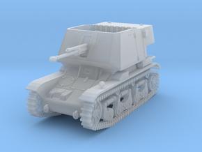 PV185E 4.7cm Pak(t) auf Pzkw 35R(f) (1/144) in Smooth Fine Detail Plastic