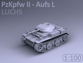 PzKpfw II ausf L - LUCHS (1:100) in Smooth Fine Detail Plastic