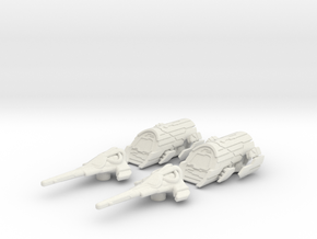 Atlantis Expedition Set: 1/270 scale in White Natural Versatile Plastic