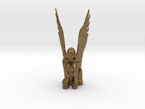 Sphinx in Natural Bronze