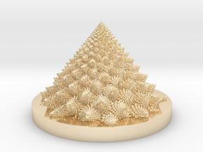 Romanesco Bloom (backwards, more resolution) in 14K Yellow Gold: Medium
