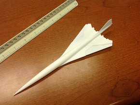 BOEING 2707 SST - SUPERSONIC 1/400 in White Natural Versatile Plastic
