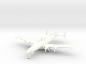 EC-121 w/gear (CW) in White Processed Versatile Plastic: 6mm