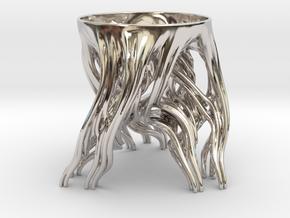 Tripod Julia bowl (thin) in Platinum