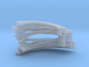 Quarter Unit Circle Julia Sets (45°) in Smooth Fine Detail Plastic