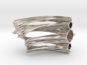 Quarter Unit Circle Julia Sets (90°, thick) in Platinum