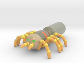 Giant Spider Pencil Flag in Glossy Full Color Sandstone