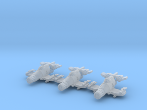 Tiger Claw Squadron: 1/270 scale in Smooth Fine Detail Plastic