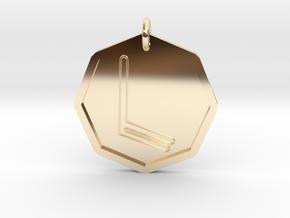 Taphthartharath Spirit of Mercury in 14k Gold Plated Brass
