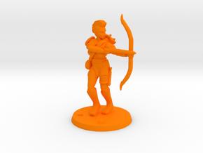 Jasmin Raider Archer in Orange Processed Versatile Plastic
