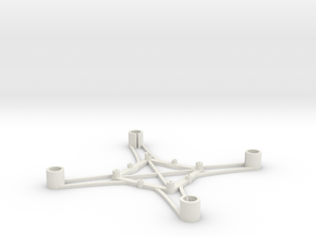 ST_drone_frame_v1_r6_btm_t2020+ in White Strong & Flexible