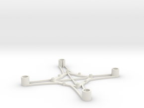 ST_drone_frame_v1_r6_btm_t2520 in White Strong & Flexible