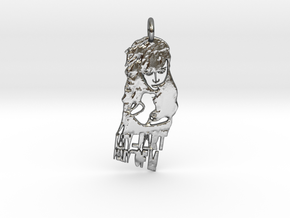 Katy Perry Pendant ((((((Part of Me)))))) in Polished Silver
