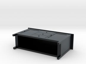 Miniature HEMNES Sideboard - IKEA in Black Hi-Def Acrylate: 1:48 - O