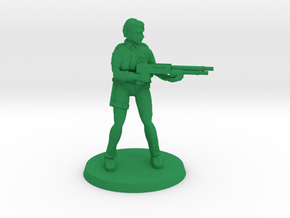Constable Istrid 2  in Green Processed Versatile Plastic