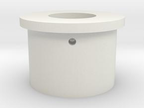 "Neopixel Blade Plug 1"" TCSS in White Natural Versatile Plastic"