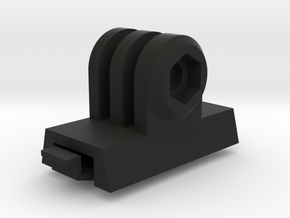 GoPro ACH-ARC Mount Adapter (Forward Tilting) in Black Strong & Flexible