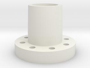 Jabber Radmitnehmer Vorne in White Natural Versatile Plastic
