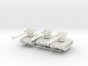 T26E4 1-144 scale 3x Superpershing  in White Strong & Flexible