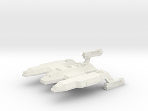 3788 Scale Lyran Lion Dreadnought (DN) CVN in White Natural Versatile Plastic