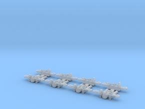 Tatra tram 1000 mm bogie kit - H0 [4x bogie] in Smooth Fine Detail Plastic