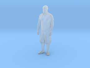 Printle C Homme 067 - 1/87 - wob in Smooth Fine Detail Plastic