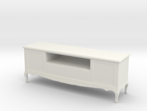 Printle Thing Commode 02 - 1/24 in White Natural Versatile Plastic