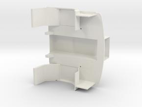 FTF Sleeping cab part 2. in White Natural Versatile Plastic