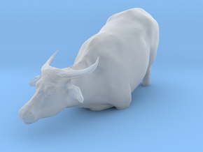 Domestic Asian Water Buffalo 1:12 To Deeper Water in Smooth Fine Detail Plastic