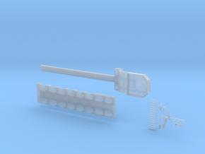 MPA 19 Tieflader ähnlich Goldhofer MPA 6 achs in Smooth Fine Detail Plastic