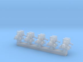 Vise 5 Pack 1-87 HO Scale in Smooth Fine Detail Plastic