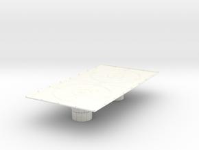 1/270 Imperial Landing Pad (Large) in White Processed Versatile Plastic