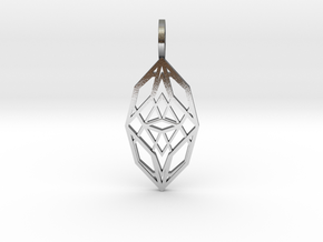Cocoon of Light in Polished Silver