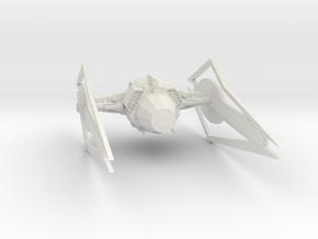 Tie Super Z3 in White Natural Versatile Plastic