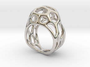 Ring Gemmi in Rhodium Plated Brass: 4 / 46.5