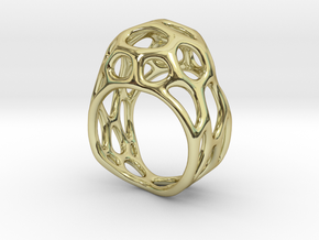 Ring Gemmi in 18k Gold Plated Brass: 7 / 54