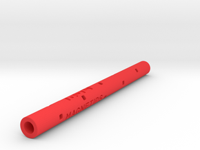 Adapter: Magnetips To Uni SXR-80 in Red Processed Versatile Plastic