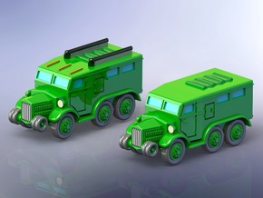 French Lorraine 28 Trucks 1/285 in Smooth Fine Detail Plastic