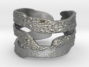 garabato_013 Ring Size 9 in Raw Silver