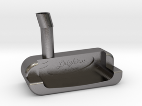 Putter Head in Polished Nickel Steel