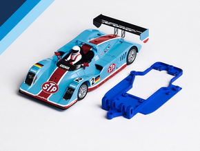 1/32 Avant Slot Kremer K8 Chassis slot.it EVO6 pod in Blue Strong & Flexible Polished