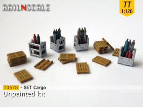 SET Cargo (TT 1:120) in Smooth Fine Detail Plastic