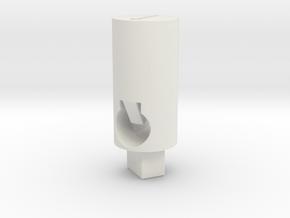 Tippmann M4 V1 Hop Up Nub - Long flat (above #2500 in White Natural Versatile Plastic