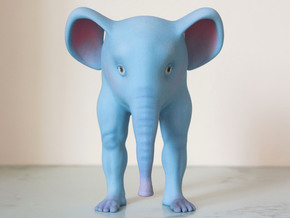 The Bipedal Elephant in Full Color Sandstone