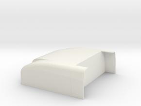 1/14 Peterbilt 379 Sleeper cab roof part  in White Natural Versatile Plastic